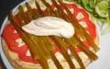 Tarte fine aux asperges et Saint Môret