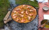 paella de guipuzcoa au feu de bois