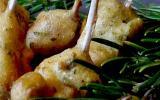 ChupaChups de lapin à la moutarde et au romarin