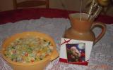 Salade aux bâtonnets de crabe