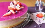 Bavarois fraise & violette