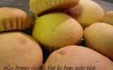 Petits biscuits moelleux fondants pour petits bébés exigeants