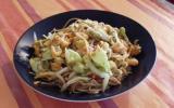 Nouilles chinoises au poulet et au gingembre