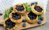Mini-tartelettes aux myrtilles