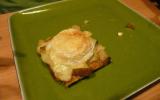Toast au fromage, jambon