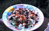 Salade estivale au fromage et melon