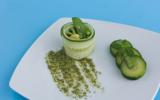 Méli-mélo de légumes verts au pesto