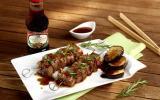 Brochettes de porc à la Yakitori