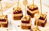 Sucré/salé de foie gras, pain d'épices poivre et poire confite