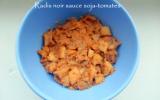 Radis noir sauce soja-tomates