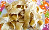 Pasta aux noix et à la ricotta