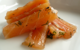Saumon Gravlax simple