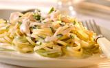 "Spaghetti à la dinde, au Philadelphia et à l""estragon"