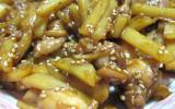Patates et poulet à la chinoise