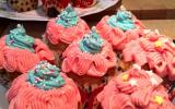 Cupcakes vanille topping vanille