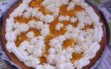 Tarte à la crème d'orange et chantilly