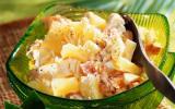 Salade créole au crabe et ananas