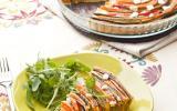 Tarte provençale en spirale 'Courgette, Aubergine, Poivron & Carotte'