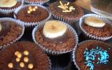 Muffins chocolat-banane