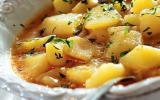 Pommes de terre aux calamars