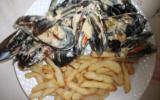 Moules marinières avec frites