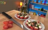 Tomates mozzarella Express ou comment couper des tomates cerise en 10 secondes ?