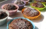 Petits moelleux pomme chocolat praliné en grains