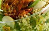 Salade quinoa au poulet paprika