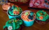 Cupcakes monstrueux pour Halloween !
