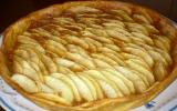 Tartes aux pommes avec compote de poire au caramel