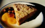 Pudding maison aux fruits secs et pain