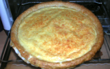 Quiche 'vide fromage'