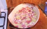 Gratin de pommes de terre au lardons et fromage