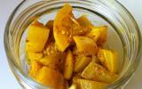 Achard de citrons confits