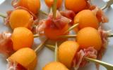 Melon au jambon de Bayonne