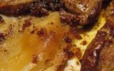 Escalopes de foie gras figues et abricots