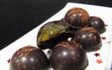 Chocolats maison à la clémentine (pour Noël)