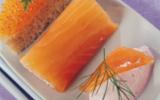 Sushi à la truite