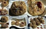 Boulettes de vitelotte au poulet en croûte de sésame et fleur de sel