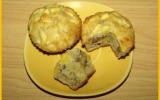Muffins aux pommes et noix