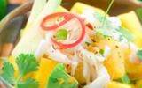 Salade de crabe, avocat et mangue M'les Fruits