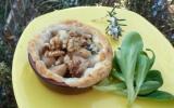 Tartelettes au roquefort papillon