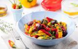 Salade de poivrons confits