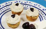 Mini cupcakes à la grecque