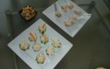 Sushi de concombre et surimi