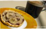 Tartelettes chocolat-caramel-banane