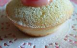 Mini cupcakes style financier à la rose