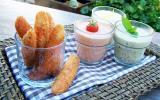 Coraya Suprêmes panés au Panko et sa farandole de sauces
