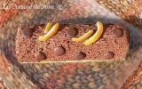Bûche trés chocolatée à l'orange pour clore l'année