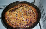 Clafoutis aux raisins